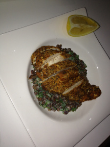 Chicken With Lentils